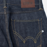 Edwin ED-39 Regular Loose Red Listed Selvedge 14 Oz Men's Jeans Blue Unwashed photo- 3