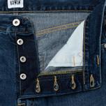 Мужские джинсы Edwin ED-45 Deep Blue Denim 11.8 Oz Blue Savage Wash фото- 2