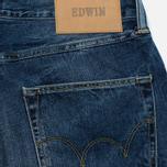 Мужские джинсы Edwin ED-45 Deep Blue Denim 11.8 Oz Blue Savage Wash фото- 3