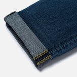 Мужские джинсы Edwin ED-45 Deep Blue Denim 11.8 Oz Blue Savage Wash фото- 4