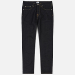 Мужские джинсы Edwin ED-45 Deep Blue Denim 11.8 Oz Blue Unwashed фото- 0