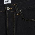 Мужские джинсы Edwin ED-45 Deep Blue Denim 11.8 Oz Blue Unwashed фото- 3
