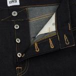 Мужские джинсы Edwin ED-45 Deep Blue Denim 11.8 Oz Blue Unwashed фото- 2