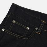Мужские джинсы Edwin ED-45 Deep Blue Denim 11.8 Oz Blue Unwashed фото- 1