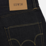 Мужские джинсы Edwin ED-45 Deep Blue Denim 11.8 Oz Blue Unwashed фото- 4