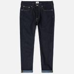 Мужские джинсы Edwin ED-45 Deep Blue Denim 11.8 Oz Blue Unwashed фото- 0