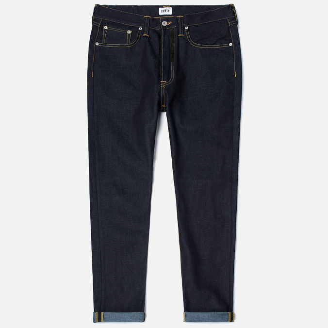 Мужские джинсы Edwin ED-45 Deep Blue Denim 11.8 Oz Blue Unwashed