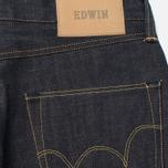Мужские джинсы Edwin ED-45 Granite Denim 13.5 Oz Blue Unwashed фото- 3