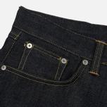 Мужские джинсы Edwin ED-45 Red Listed Selvage Denim 14 Oz Blue Unwashed фото- 1
