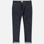 Мужские джинсы Edwin ED-45 Red Listed Selvage Denim 14 Oz Blue Unwashed фото- 0