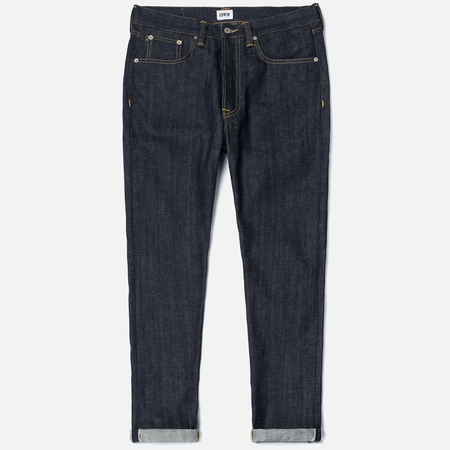 Мужские джинсы Edwin ED-45 Red Listed Selvage Denim 14 Oz Blue Unwashed