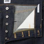 Мужские джинсы Edwin ED-45 Red Listed Selvage Denim 14 Oz Blue Unwashed фото- 2