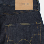 Мужские джинсы Edwin ED-45 Red Listed Selvage Denim 14 Oz Blue Unwashed фото- 3