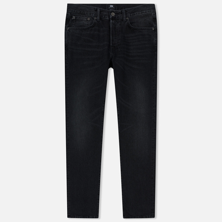 Мужские джинсы Edwin ED-45 Red Selvage Black Denim 13.5 Oz Black Mist Wash
