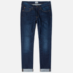 Мужские джинсы Edwin ED-47 Regular Straight Compact Indigo 11.5 Oz Blue Coal Wash фото- 0