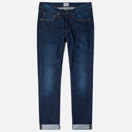 Мужские джинсы Edwin ED-47 Regular Straight Compact Indigo 11.5 Oz Blue Coal Wash