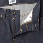 Edwin ED-47 Regular Straight Compact Men's Jeans Indigo Unwashed photo- 1