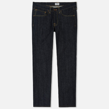 Мужские джинсы Edwin ED-47 Regular Straight Red Listed Selvage Blue Unwashed фото- 0