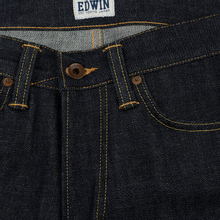 Мужские джинсы Edwin ED-47 Regular Straight Red Listed Selvage Blue Unwashed фото- 2