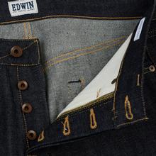 Мужские джинсы Edwin ED-47 Regular Straight Red Listed Selvage Blue Unwashed фото- 3