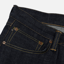 Мужские джинсы Edwin ED-47 Regular Straight Red Listed Selvage Blue Unwashed фото- 5