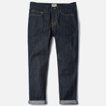 Мужские джинсы Edwin ED-47 Regular Straight Red Listed Selvage Blue Unwashed фото- 0