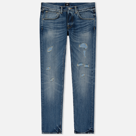Мужские джинсы Edwin ED-55 63 Rainbow Selvage Denim 12.8 Oz Blue Haruko Wash