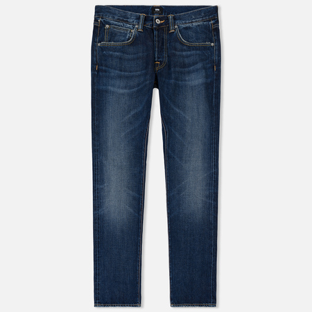 Мужские джинсы Edwin ED-55 63 Rainbow Selvage Denim 12.8 Oz Blue Hiraku Wash