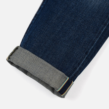 Мужские джинсы Edwin ED-55 63 Rainbow Selvage Denim 12.8 Oz Blue Hiraku Wash фото- 4
