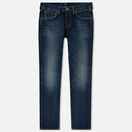 Мужские джинсы Edwin ED-55 63 Rainbow Selvage Denim 12.8 Oz Blue Moriko Wash