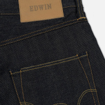 Мужские джинсы Edwin ED-55 63 Rainbow Selvage Denim 12.8 Oz Unwashed фото- 4