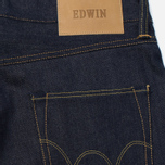 Мужские джинсы Edwin ED-55 63 Rainbow Selvage Denim 12.8 Oz Unwashed фото- 3