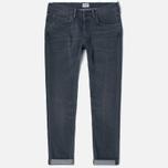 Мужские джинсы Edwin ED-55 CS Grey Stretch 11.5 Oz Sleet Wash фото- 0