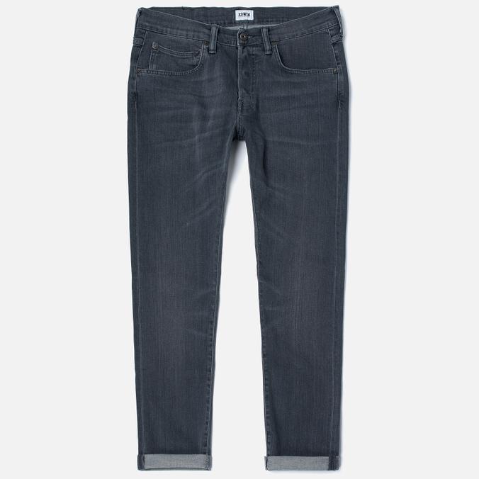 Мужские джинсы Edwin ED-55 CS Grey Stretch 11.5 Oz Sleet Wash