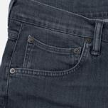 Мужские джинсы Edwin ED-55 CS Grey Stretch 11.5 Oz Sleet Wash фото- 1