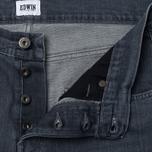 Мужские джинсы Edwin ED-55 CS Grey Stretch 11.5 Oz Sleet Wash фото- 2