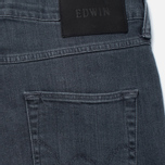 Мужские джинсы Edwin ED-55 CS Grey Stretch 11.5 Oz Sleet Wash фото- 3
