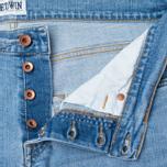 Мужские джинсы Edwin ED-55 CS Night Blue 11 Oz Blue Light Trip Use фото- 1