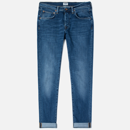 Мужские джинсы Edwin ED-55 CS Night Blue 11 Oz Blue Mid Trip Use