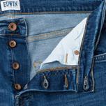 Мужские джинсы Edwin ED-55 CS Night Blue 11 Oz Blue Mid Trip Use фото- 1