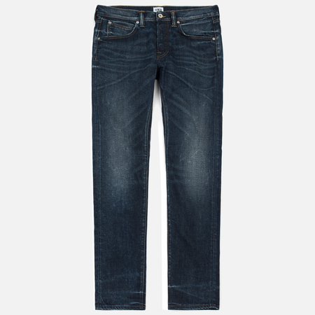 Мужские джинсы Edwin ED-55 CS Night Blue Denim 11 Oz Blue Contrast Clean Wash