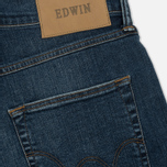 Мужские джинсы Edwin ED-55 CS Night Blue Denim 11 Oz Blue Mid Trip Used фото- 4