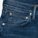 Мужские джинсы Edwin ED-55 CS Night Blue Denim 11 Oz Blue Mid Trip Used фото- 1
