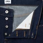 Мужские джинсы Edwin ED-55 CS Night Blue Denim 11 Oz Blue Rinsed фото- 2