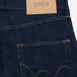 Мужские джинсы Edwin ED-55 CS Night Blue Denim 11 Oz Blue Rinsed фото- 3