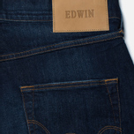 Мужские джинсы Edwin ED-55 CS Night Blue Denim 11 Oz Dark Trip Used фото- 3