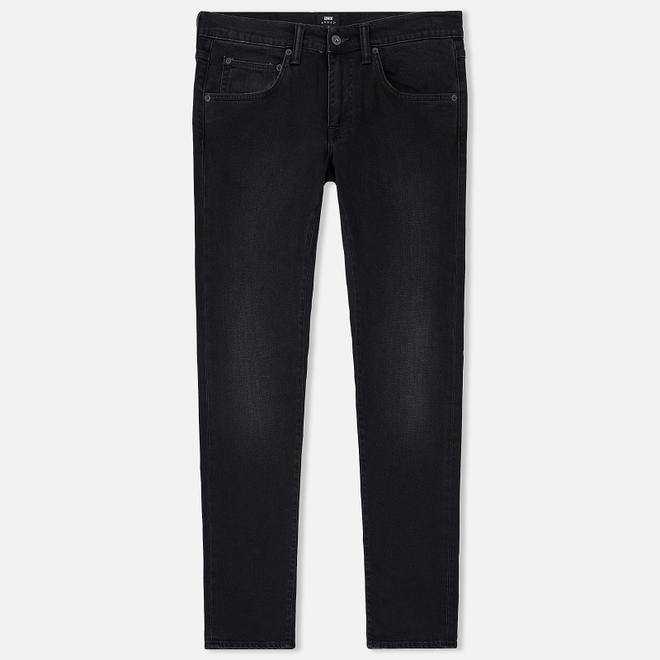 Мужские джинсы Edwin ED-55 CS Power Black Denim 12.25 Oz Black Mineral Wash