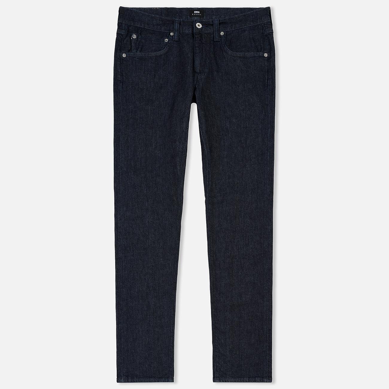 Мужские джинсы Edwin ED-55 CS Red Listed Blue Denim 12.75 Oz Blue Rinsed