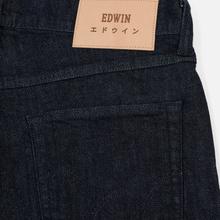 Мужские джинсы Edwin ED-55 CS Red Listed Blue Denim 12.75 Oz Blue Rinsed фото- 5