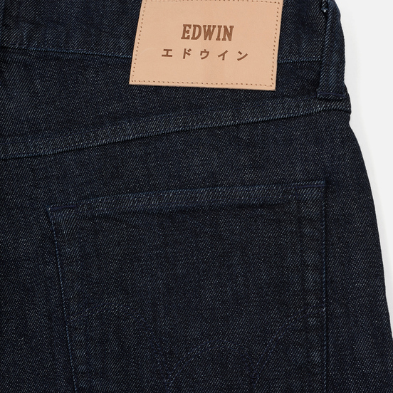 Мужские джинсы Edwin ED-55 CS Red Listed Blue Denim 12.75 Oz Blue Rinsed